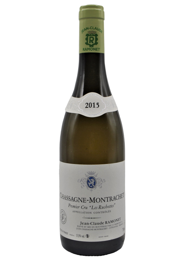 Domaine Ramonet, Chassagne Montrachet 1er Cru Ruchottes 2015