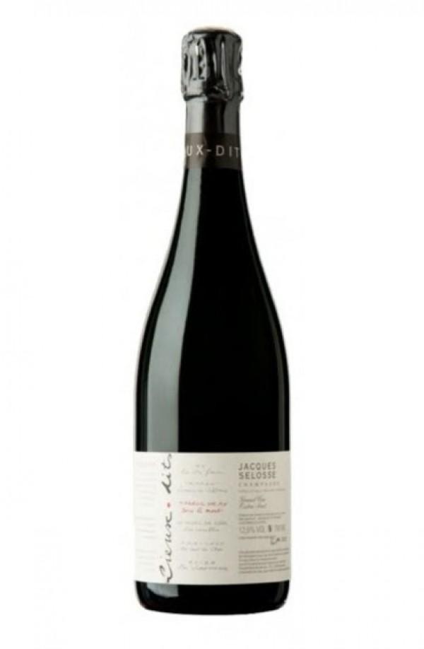 Champagne Selosse, Sous Le Mont, Blanc de Noir Grand Cru