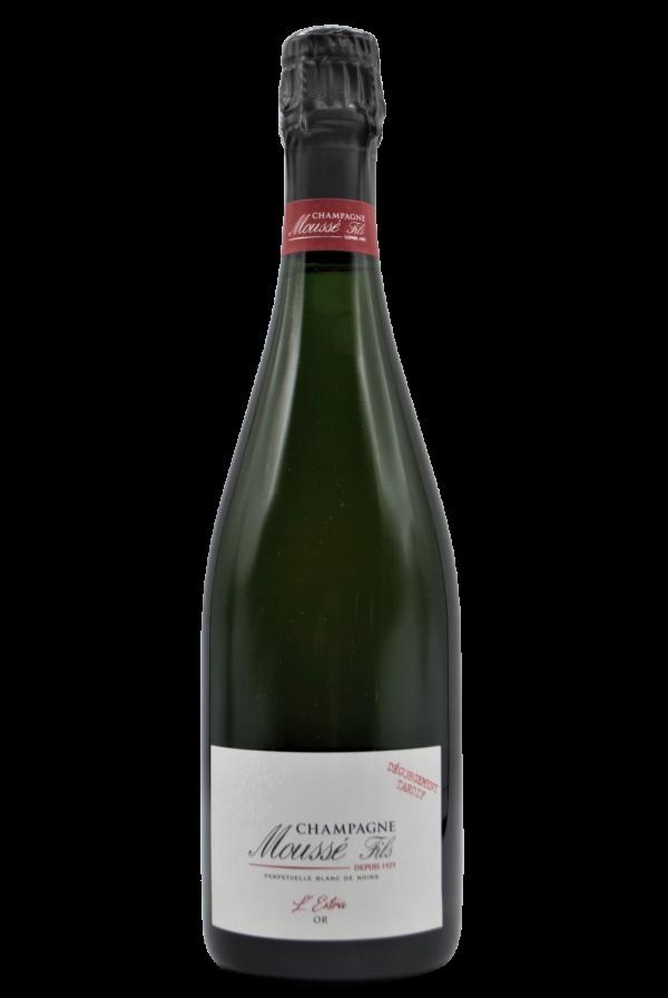 Champagne Mousse Fils, L'Extra Or, Dégorgement Tardif