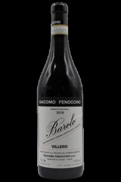 """Giacomo Fenocchio, Barolo """"Villero"""" 2016"""