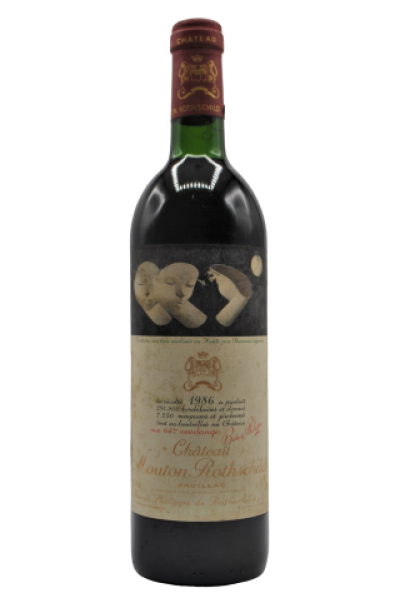 Chateau, Mouton Rothschild, Pauillac 1986