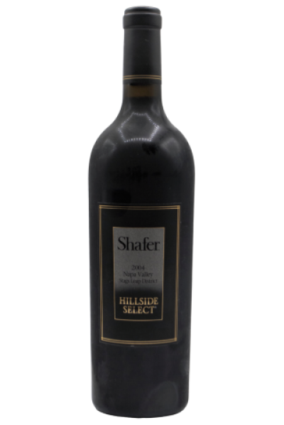 Shafer Vineyards, Napa Hillside Select Cabernet Sauvignon  2004