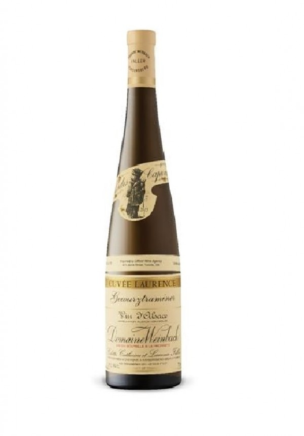 Domaine Weinbach Gewurztraminer Cuvee Laurence 2014, bottiglia 750 ml Weinbach, 2014