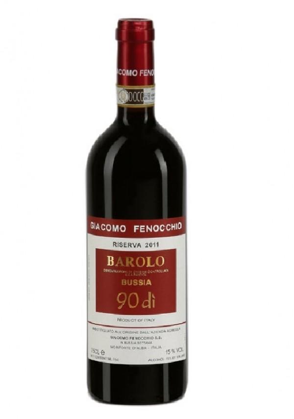 Giacomo Fenocchio, Barolo Riserva Bussia 90 Dì 2013, bottiglia 750 ml Giacomo Fenocchio, 2013