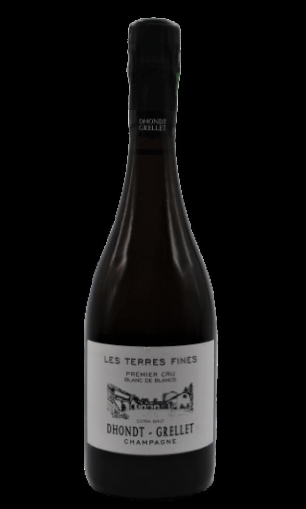Champagne Dhondt-Grellet, Les Terres Fines, Blanc de Blancs 2013, bottiglia 750 ml Dhondt Grellet, s.a
