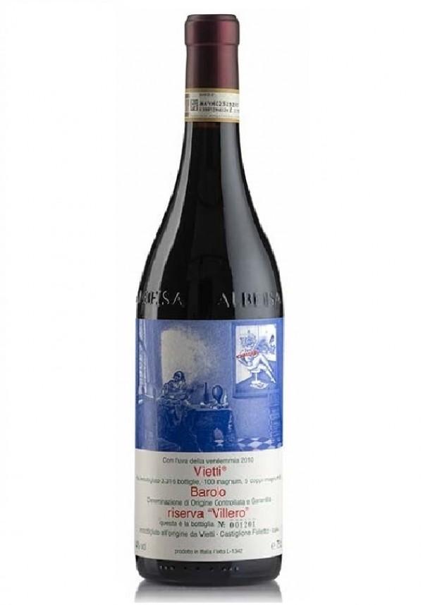 Vietti, Barolo Riserva Villero 2010, bottiglia 750 ml Vietti, 2010