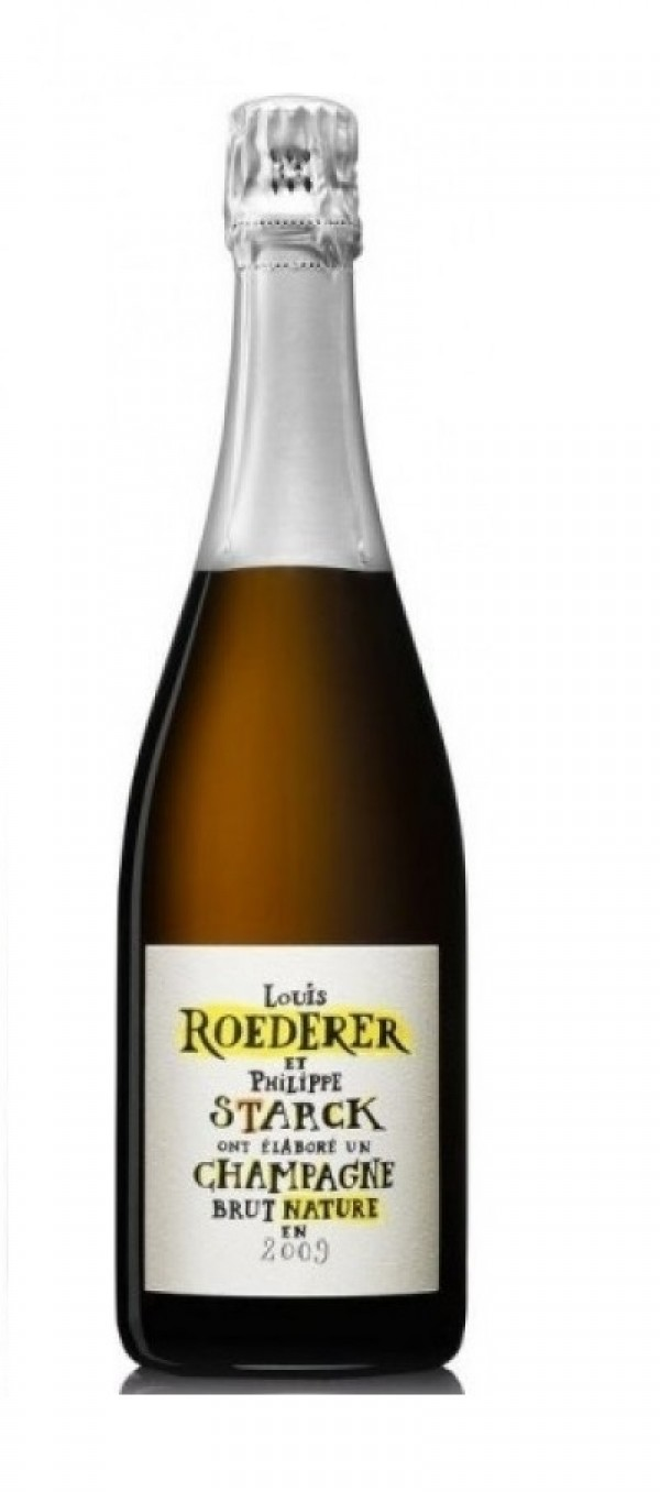 Champagne Louis Roederer, Philippe Starck Brut Nature Millesime 2009