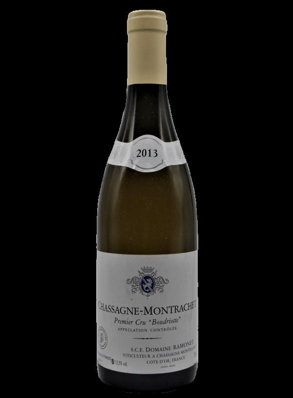 Domaine Ramonet, Chassagne Montrachet 1er Cru Boudriotte 2013