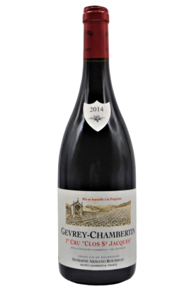 Domaine Armand Rousseau, Gevrey-Chambertin, Clos St. Jacques 1 er Cru. 2014