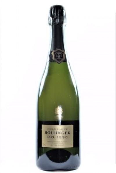 Champagne Bollinger, RD 1990