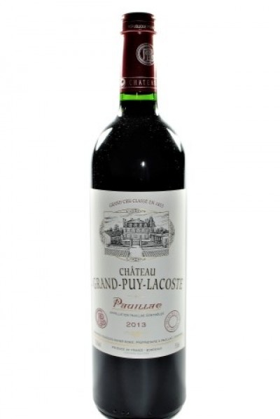 Chateau Grand Puy Lacoste 2013, Pauillac