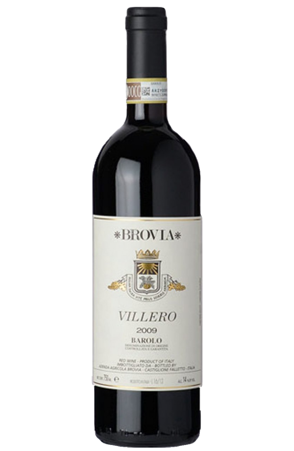 wine bottle Brovia, Italia