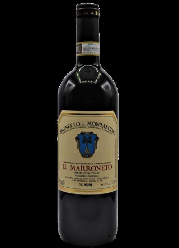 wine bottle Il Marroneto, Italia