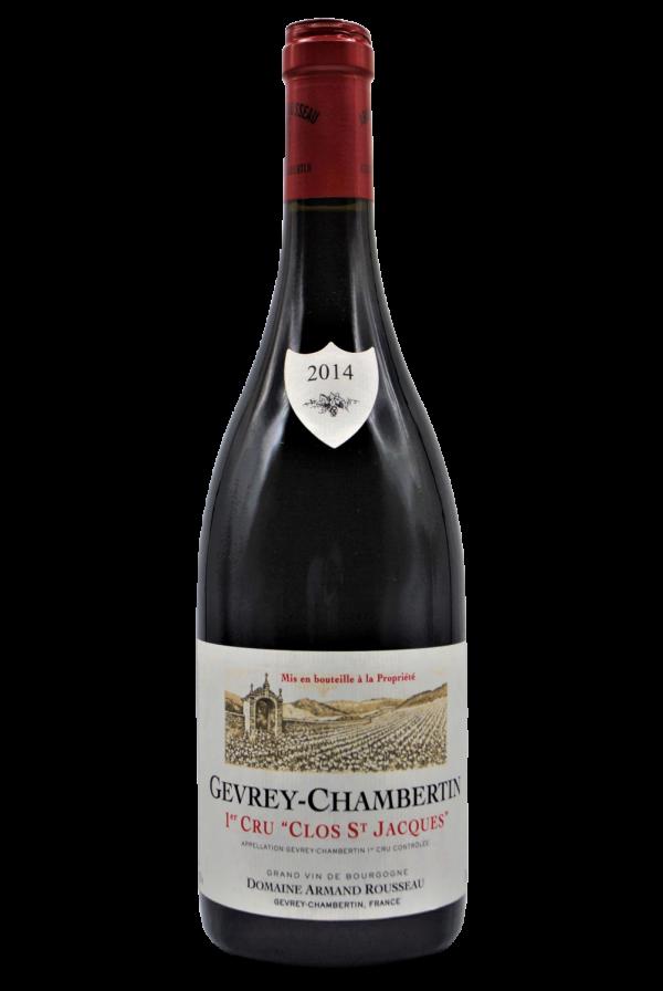 wine bottle Armand Rousseau, Francia