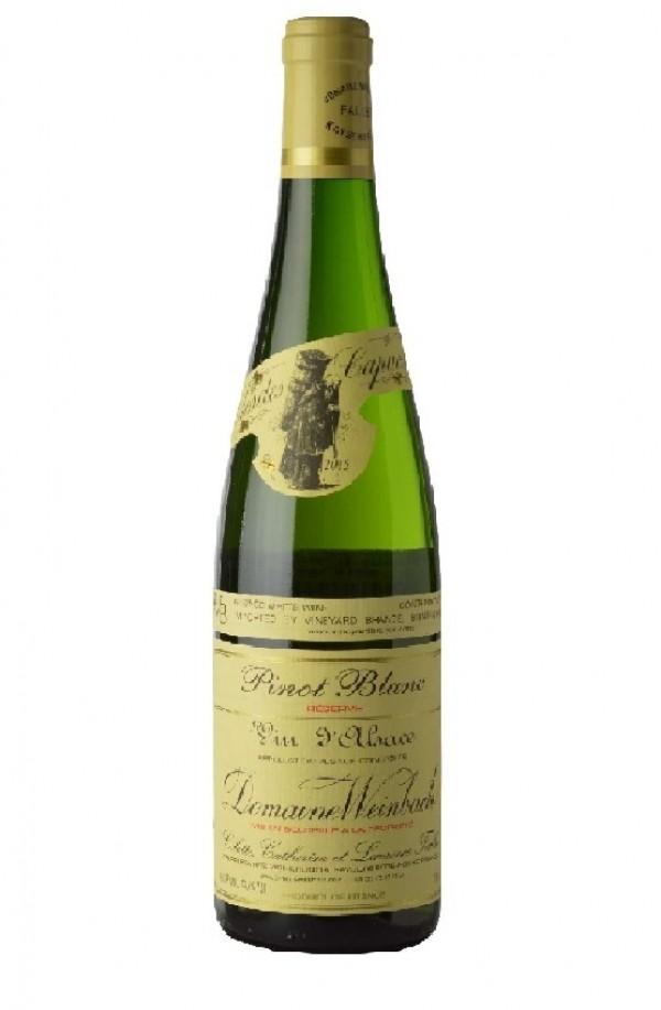 wine bottle Weinbach, Francia